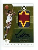 2018-2019 Opulence Collin Sexton Rookie Card Auto RPA Patch RC Gold #/25
