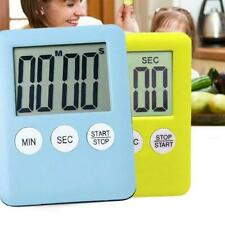 Large Digital LCD Kitchen Cooking Timer Count Down Clock Thin Utral Alarm U G2H0