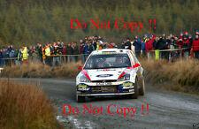 Colin McRae. FORD FOCUS RS WRC 02 RALLY GB 2002 fotografia 2