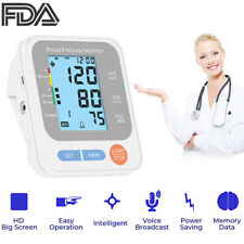 Auto Digital Blood Pressure Monitor Pulse Large 14'' BP Cuff Upper Arm Home Use