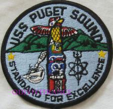 PUS493 - US NAVY SHIP  USS PUGET SOUND  AD-38