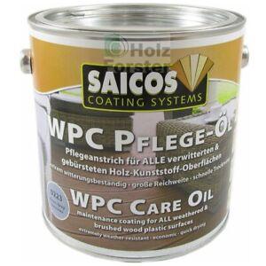 SAICOS WPC Pflege Öl, Farb und Mengenwahl