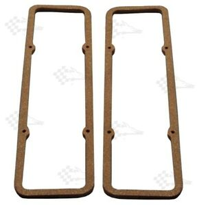 "SB Small Block Chevy 1960-86 Extra Thick 5/16"" Cork Valve Cover Gaskets"