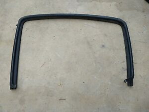 Toyota Tacoma DOUBLE CAB Pickup Truck LEFT REAR Door Window Seal 2005-2015