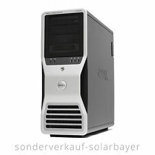 Dell T7500 PC Workstation 2x Intel Xeon L5640 300GB SSD 12GB RAM Quadro 600 Win7