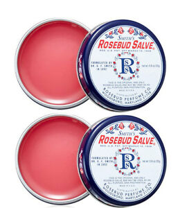 Rosebud Salve Two Pack / 2 x 0.8 oz tins Original Salve *NEW*