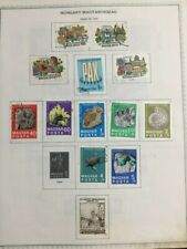 TCStamps USA FREE SHIP 38x Pages OLD Hungary Postage Stamps  #438