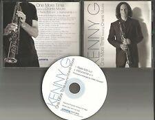 KENNY G w/ CHANTE MOORE One More Time w/ EDIT & INSTRUMENTAL PROMO DJ CD single