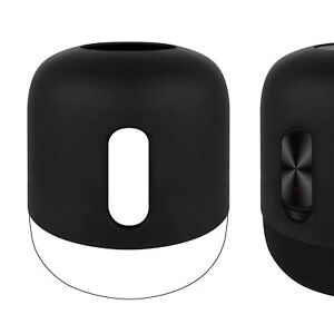 Geekria Silicone Case for HUAWEI Sound X Home Bluetooth Speaker (Black)