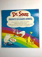 Dr. Seuss Presents Favorite Children's Stories Vinyl EX Record 2x LP 1972