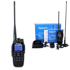 Retevis RT2 UHF+VHF256CH DTMF Digital Walkie Talkie DPMR FRS/GMRS 2-Way Radio US