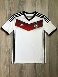 Germany 2014-2015 Home Football Soccer Shirt Jersey Youth 13-14 years L boys