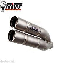Silencieux d'echappement Double Gun MIVV YAMAHA YZF R1 2006-2014 Full Titanium