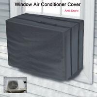 Window Air Conditioner Cover For Air Conditioner Outdoor Unit Anti-Snow 54x36cm
