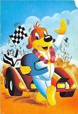 BF40834 dog cat with car voiture  cartoon pif gadget    cartoon movie star