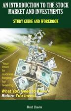 An Introduction to the Stock Market and Investments: Study Guide and Workbook, ,