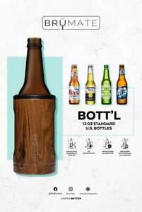 BRUMATE HOPSULATOR BOTT'L Insulated Cooler Koozie Coozie For 12 OZ BEER BOTTLES