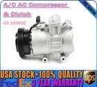 A/C Compressor +Clutch Fits Kia Rio 2006-2011 Rio5 2006-2011L4 1.6L Premium USA