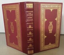 BEAUTIFUL OXFORD PRESS Leather THE ODYSSEY HOMER - 1984 Franklin Library SPECIAL
