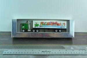 Herpa Freightliner COE Burlington Northern Tractor w/ 40' Container Truck 1:87