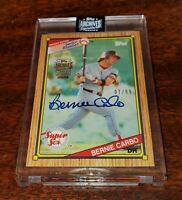 BERNIE CARBO AUTO SP #07/69 #/69 2020 TOPPS ARCHIVES SIGNATURE SERIES AUTOGRAPH!