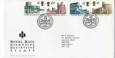24 MARCH 1992 ALL 4 HIGH VALUE DEFINITIVES ROYAL MAIL FIRST DAY COVER BUREAU SHS