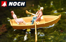 Noch Rowing Boad with Oarsman and Seated Lady 16800 (HO Scale suit OO also)