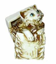Harmony Kingdom art Neil Eyre Designs Christmas cat present box winter wreath