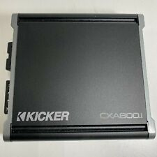 New ListingKicker 800W Class D Digital Mono Amp (Cxa800.1) + Variable Low-Pass Crossover