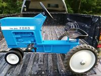 Ford TW 20 Been Threw Total Restoration ,sold As Is, No Returns ,or Refunds,...