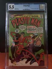 Plastic Man 1st Appearance (D.C. Comic 1966) Silver Age Cgc 5.5 Key Gil Kane