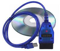 OBD 2 II Interface VAG KKL USB VW Audi Seat Skoda Fehler Diagnose Software Mode