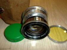 Carl Zeiss Sonnar #3058198 1,5/50mm lens red T M39 mount for MFT  Sony E cameras