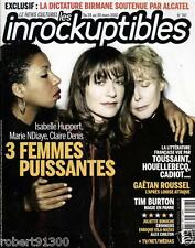 LES INROCKUPTIBLES 747./...GAETAN ROUSSEL......L'APRES LOUISE ATTAQUE../.03-2010