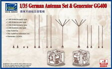 Riich Models 1/35 WWII German GG400 Generator & Antenna Set w/PE (2pcs)