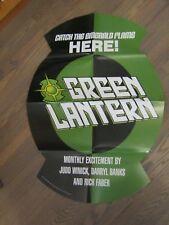 Promo Poster - Green Lantern 2000 DC Comics Ring Shaped PROMO Code 8336     ZPO0