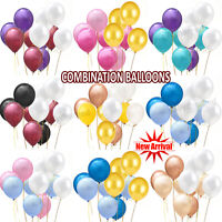 """100 LARGE PLAIN 10"""" BALLOONS BALLONS helium BALLOONS Quality Bday Party BALOON"""