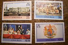 Anguilla 1978 #315-318 MNH Queen Elizabeth II Coronation Anniversary - FREE SHIP