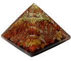 Multistone Stone Orgone Pyramid Reiki Gemstones Spiritual Energy Generator