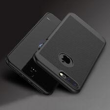iPhone 8, 7 Plus, 7, 6s, 5, SE Handy Hülle Slim Case Schutzhülle Cover Schwarz