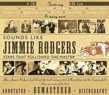 NEW..Sounds Like Jimmie Rodgers [Box] by Various Artists  4 DISC BOX SET  CD501