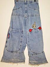 Original Vintage 90s JNCO Kangaroo Ultra Wide Leg Blue Jeans 30W 29L Made in USA