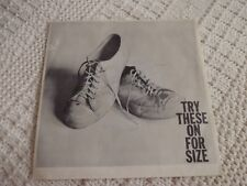 TEEN BUZZ & AL LITTLE WHITE SNEAKERS/HERE COME THE TEARS COLUMBIA SPECIAL SLEEVE