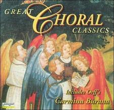 Great Choral Classics Ute Walther/Kolos Kovats/Michael-Christfrie Winkler New CD