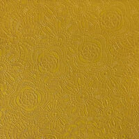 """Vinyl faux leather upholstery  CURRY Sphere Embossed fabric by the yard 55"""" Wide"""