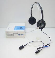 Plantronics HW261A SupraPlus Wideband Binaural Voice Tube Headset Black 36830-41