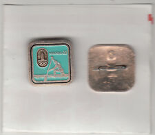Olympic Games:Moscow 1980-Russia-Mens Single Sculls Rowing-Badge
