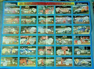 1994 PENN NATIONAL SPEEDWAY ARISTOCRAT STOCK CAR RACING MAG/POSTER PENNSYLVANIA