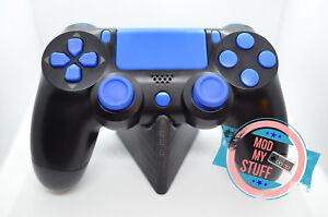 Ps4 Controller Button Pro/Slim, Set, Blau, Tasten, Knöpfe, passend für Pro/Slim
