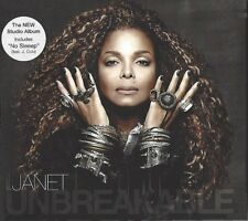 JANET JACKSON / UNBREAKABLE * NEW DIGIPACK CD 2015 * NEU *